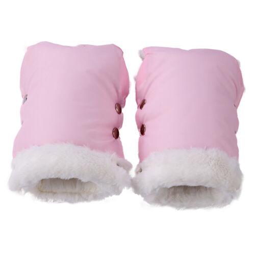 Winter Warm Stroller Gloves Waterproof Fleece Hand Muff Pram Accessories