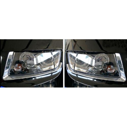 Head Light Eyebrow Cover For Compass Chrome Headlight Lamp Accessories 11-2016