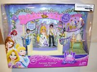 Disney Princess Tangled Rapunzel Fairytale Wedding Polly Pocket Size Dolls