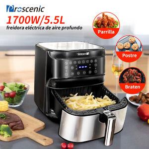 Proscenic-Alexa-Freidora-de-Aire-Caliente-sin-Aceite-5-5L-Temperatura-Ajustable
