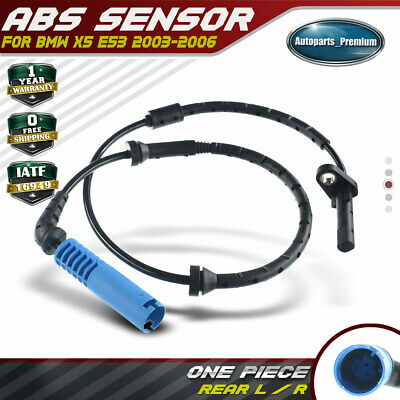 A-Premium Rear Left or Right ABS Sensor for BMW E53 X5 2000-2003 34526756380