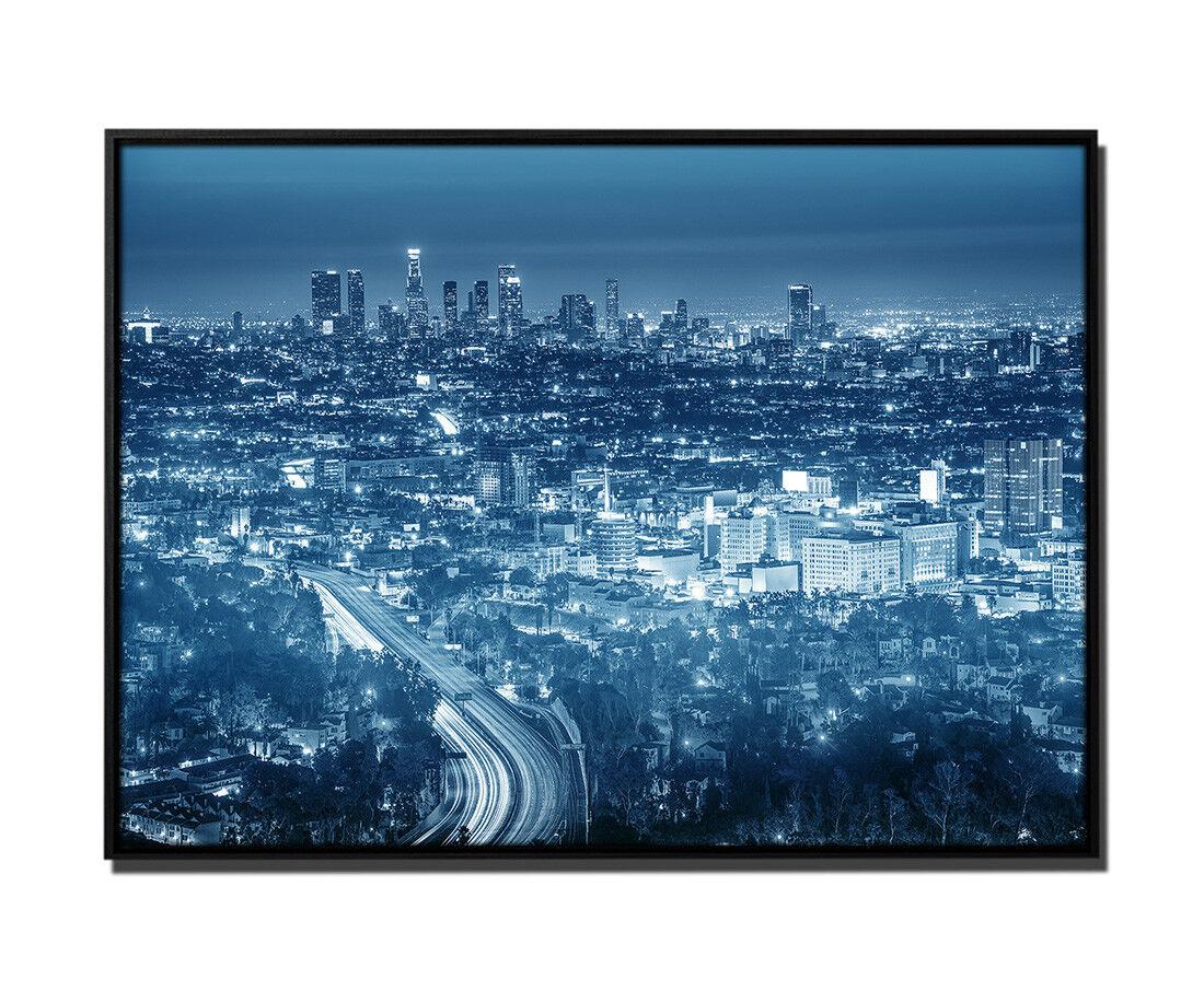 105x75cm tela petrolio Los Angeles USA città