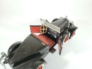 Danbury-Mint-1927-Stutz-Black-Hawk-1-24-Scale-Diecast-Car-w-Original-Box-amp-pack