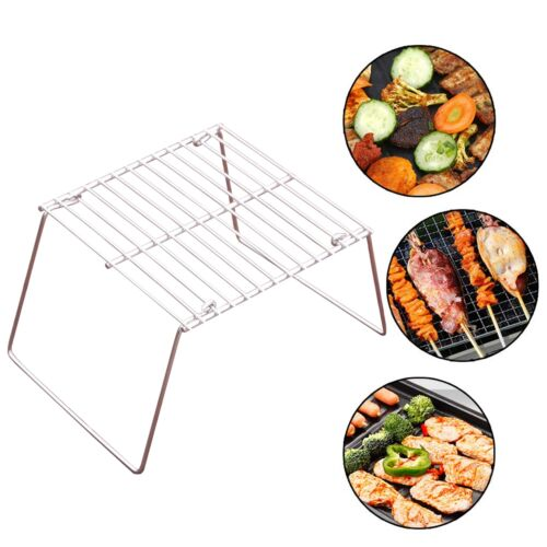 Portable Folding Camp Fire Grill BBQ Beach Camping Festival Picnic Barbecue