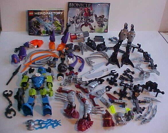 Lego Hero Factory 6217 SURGE Bionicle 8689 MISTIKA Figure Figure Figure PARTS LOT + Mask Fist c35a7f