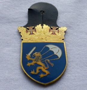 Portuguese PARATROOPERS BASE OPERACIONAL BOTP Nº 1 in Tancos Portugal badge
