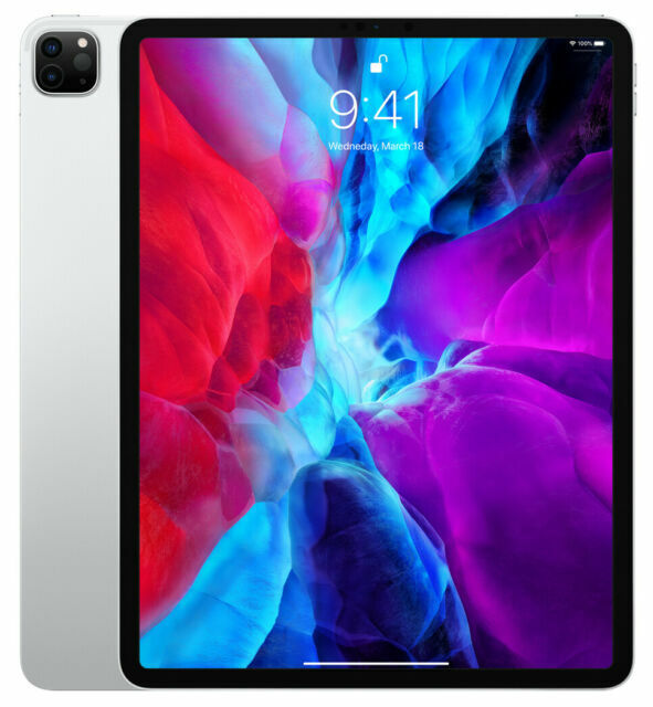 Apple iPad Pro 2020 4th Gen . 1TB, Wi-Fi, 12.9 in - Silver