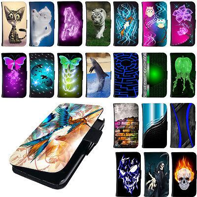 Tasche für Samsung Galaxy S8 Plus Schutz Hülle Flip Case Schale Etui Motiv