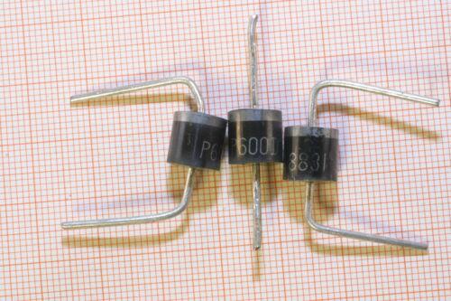 Diode 10 Stk P600D 200V,6A                                              8444