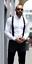 Mens-Braces-Suspenders-Black-50mm-X-Back-Heavy-Duty-Biker-Snowboard-Trousers thumbnail 12
