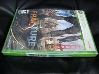 Fracture (microsoft Xbox 360, 2008) Brand Factory Sealed