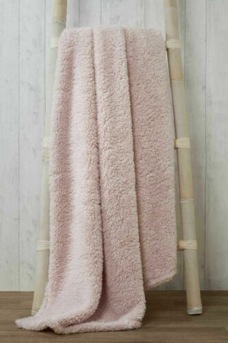 Bed Throw LARGE SOFT /& WARM Sherpa Teddy Bear Fleece FUR Sunggly Blanket Sofa