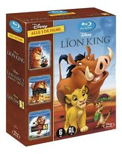 BLU-RAY : THE LION KING TRILOGIE 1 2 3 -  WALT DISNEY DIAMOND EDITION box set