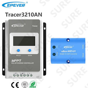 Details about Tracer 3210AN 30A MPPT Solar Charge Controller+APP mobile  WIFI Communication