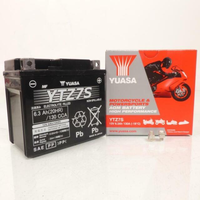 Batería Yuasa Moto Honda 125 Varadero 2001-2015 YTZ7-S / 12V 6Ah Nuevo