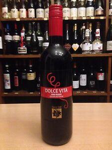 quality design acc0f cf95b Details zu 6 x Dolce Vita Rotwein Lieblich Süß Vino Rosso Italien  lieblicher süßer Wein Rot