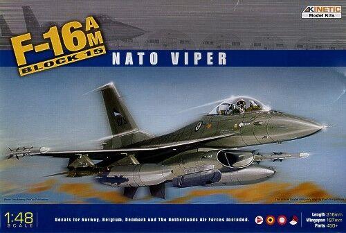 Kinetic 1//48 F-16AM Block 15 NATO Viper # 48002*