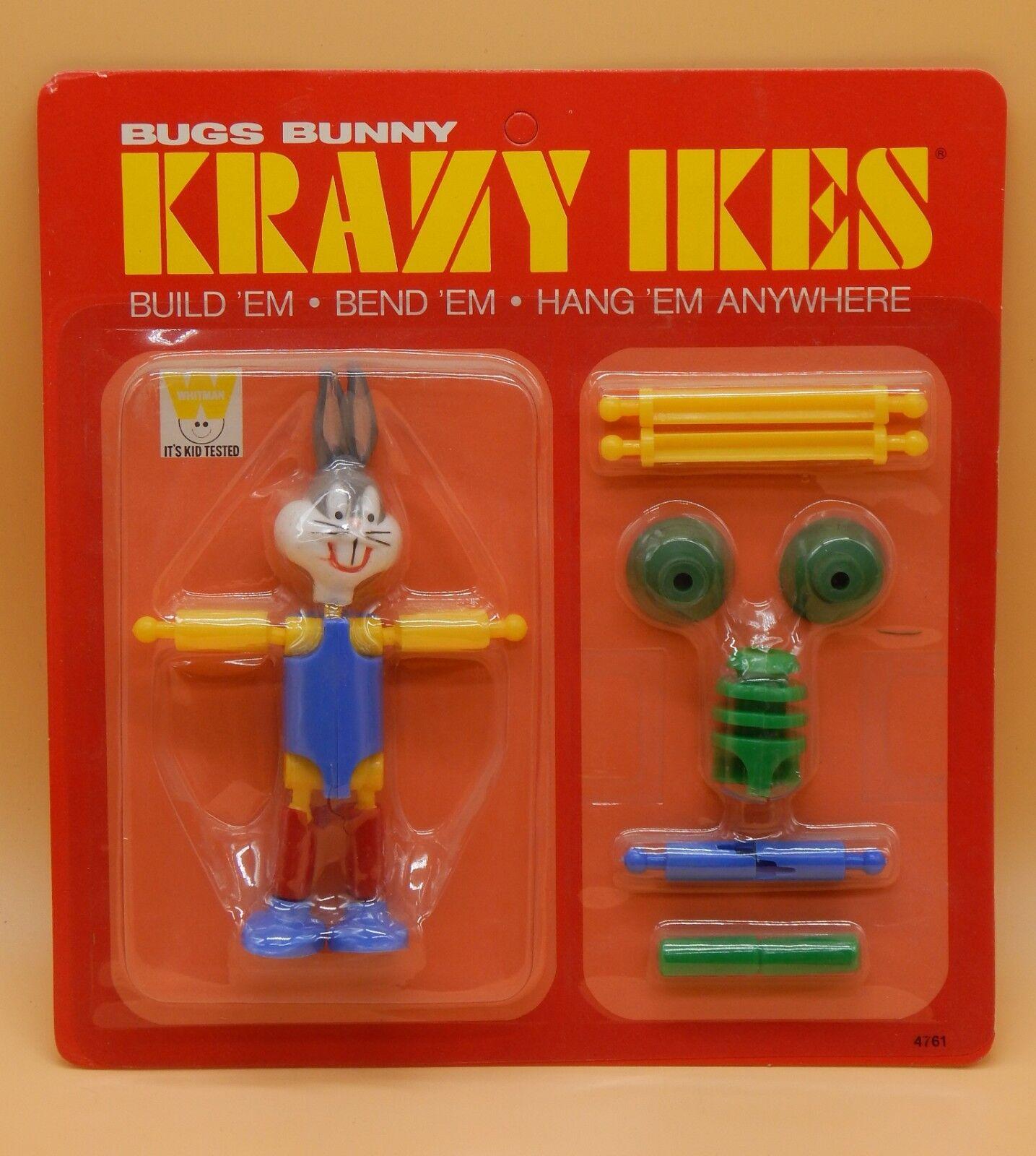 1960 ist jahrgang whitman verrckt ikes bugs - bunny - actionfigur versiegelt moc spielzeug selten
