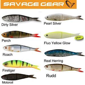 Savage Gear 4 Play Lure Set 6X 9.5 cm leurres 1X Med Lure Box 2X Jig Heads