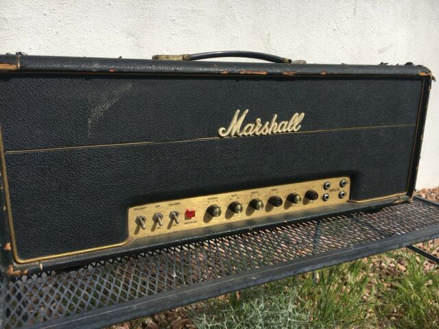 marshall 100 watt super bass plexi guitar amp for sale online ebay. Black Bedroom Furniture Sets. Home Design Ideas