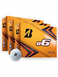 Bridgestone e6 Golf Balls - 3 Dozen White -  Mens