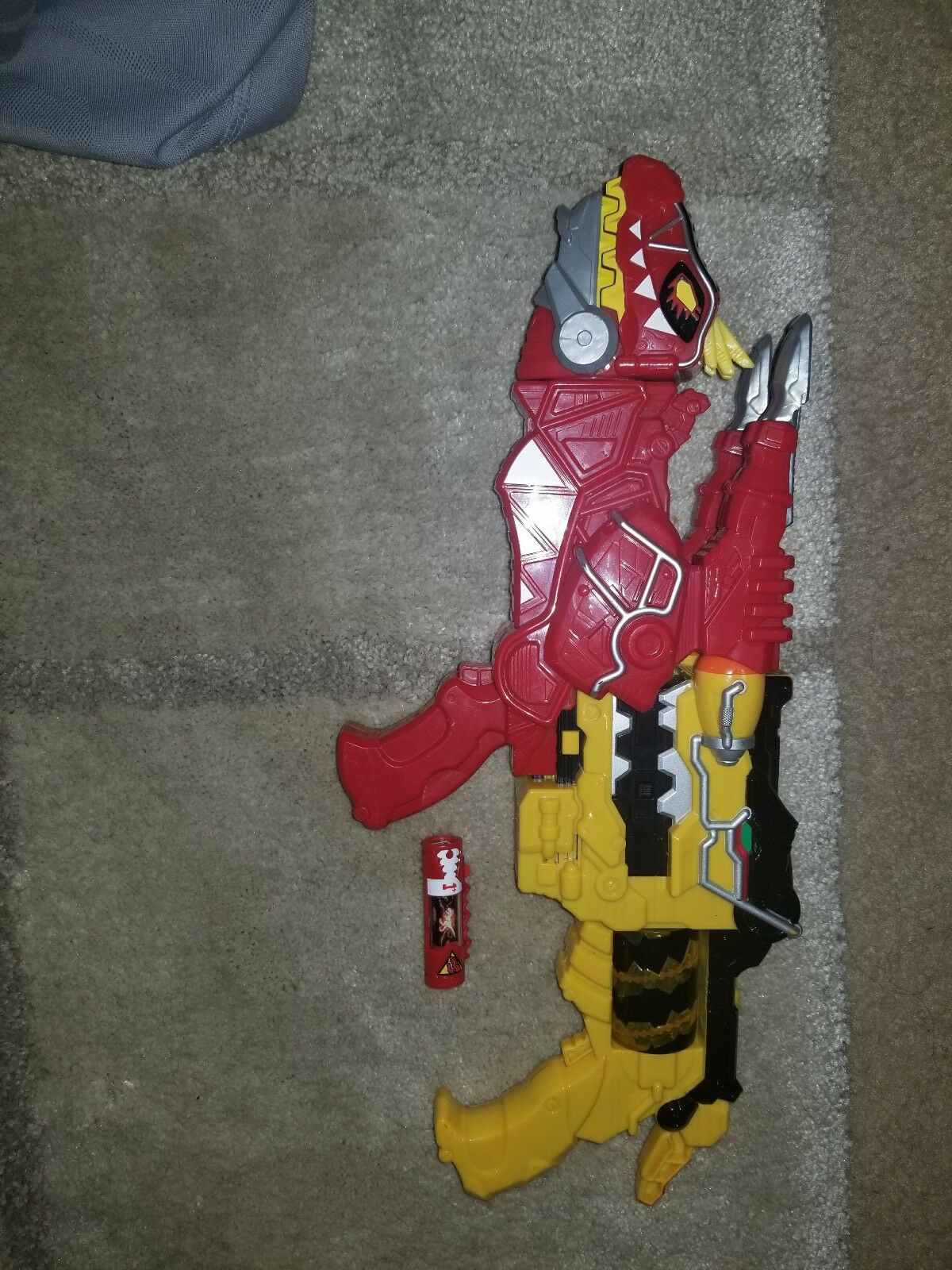 Power Rangers MMPR Morpher Gelb Gun ROT T-Rex Dino Supercharge Charge Deluxe