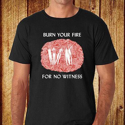New Angel Olsen Burn Your Fire for No Witness Men/'s Black T-Shirt Size S-3XL