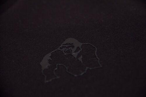 Gorilla Wear Durango Crewneck Sweatshirt Black Bodybuilding Fitness