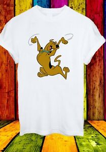 SCOOBY-DOO-Shaggy-Velma-Fred-e-Daphne-Cartoon-Uomini-Donne-Unisex-T-shirt-843