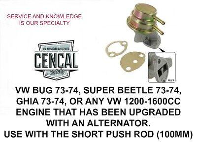 Delphi Mechanical Fuel Pump MF0072 VW Beetle Ghia Super Beetle 1.6L 71-74