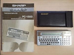 Sharp pc-1500 Pocket Computer, Basic Calculator, Calculadora rápida #806