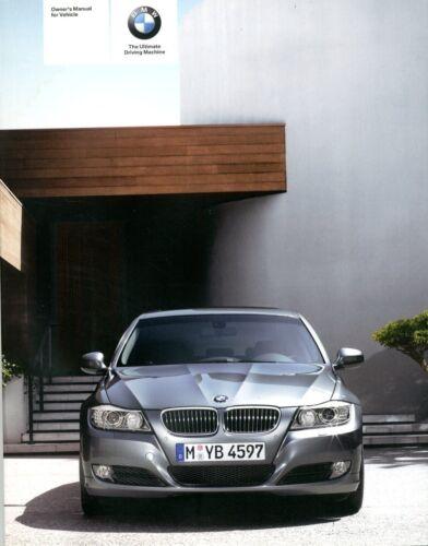 2008 BMW 3 SERIES XDRIVE OWNER'S MANUAL HANDBOOK BETRIEBSANLEITUNG ...