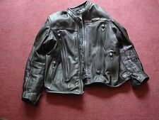 Harley Davidson Men's Black FXRG Riding Leather Jacket Size 2XL