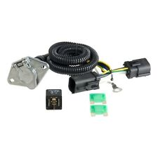 Trailer Connector Kit-Custom Wiring Harness Curt Manufacturing 56166 on t one wiring harness, 1998 ford f-150 tow harness, t connector fuel line, t connector hose, t connector for trailer lights, t connector battery, t connector electrical,