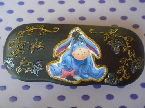 New black EEYORE   picture glasses case,
