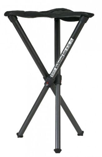 Dreibeinhocker /'Walkstool Basic/' Sitzhöhe 50cm Aluminium Klapphocker Angeln Zelt
