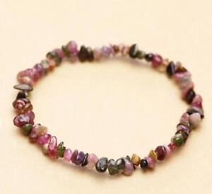Natural-beads-tourmaline-bracelet-gravel-Chain-pray