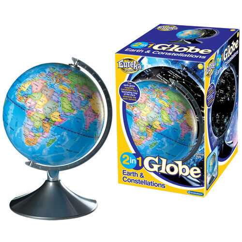 Brainstorm 2 in 1 Globe Earth and Constellations Illuminated