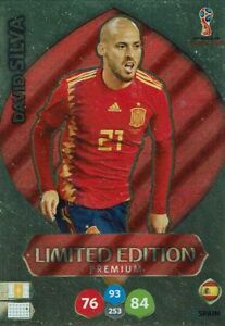 Panini-Adrenalyn-XL-World-Cup-2018-Russia-WM-Limited-Edition-David-Silva
