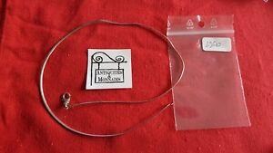 Flight Tracker Collana A Catena In Argento Massiccio Ref29610 Jewelry & Watches