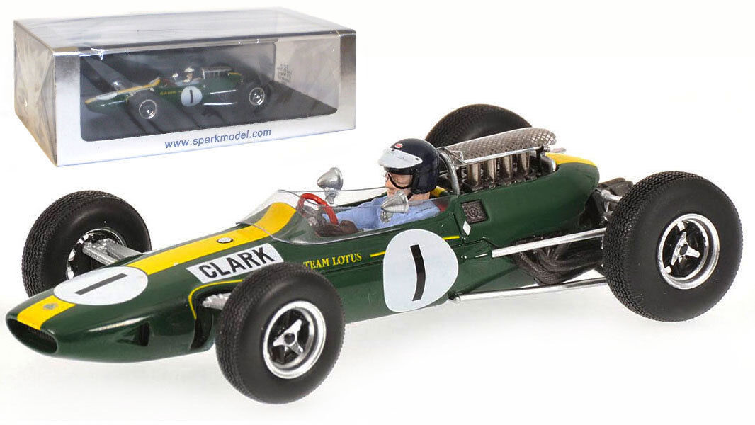 Spark s1614 Lotus 33  1 1965-Jim Clark 1965 F1 World Champion  Escala