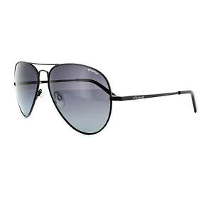 bac3599c6fb48 Polaroid Sunglasses PLD 1017 S 003 WJ Matt Black Grey Gradient ...