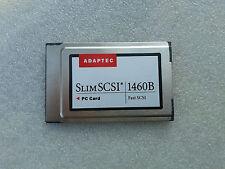 Adaptec SlimSCSI 1460B 1680800-A Fast SCSI PC Card PCMCIA 50pin cable 494488-01C