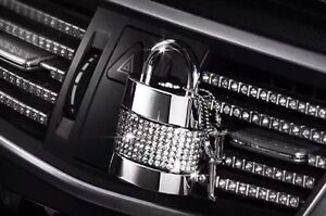 Car air vent air freshener with swarovski crystals for for Mercedes benz car air freshener