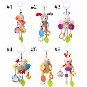 Baby berceau landau Hanging Animal Handbell hochets poussette siège auto poussette jouets