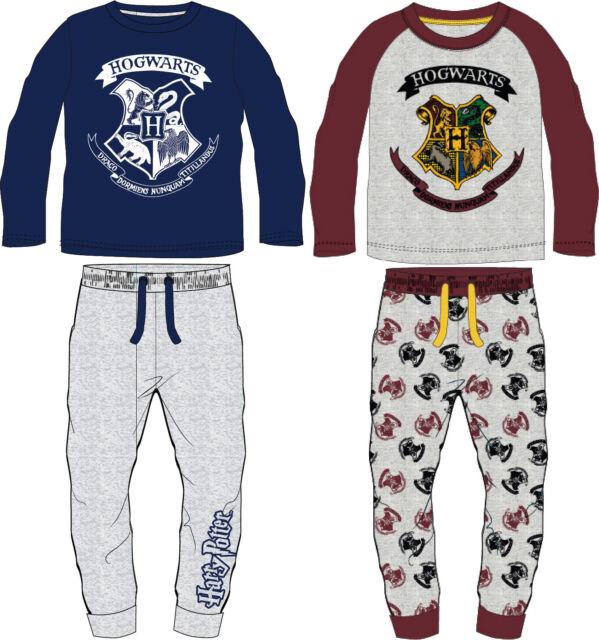 Unisex Warner Bros Harry Potter Long Pyjamas Gryffindor Slytherin 5 to 15 Years