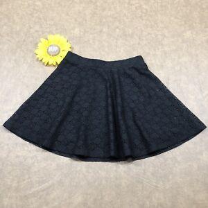 315957cb3ae Aeropostale Womens Lace Overlay Mini Skirt Size XS Stretch Black ...