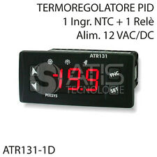 ATR131-1D TERMOREGOLATORE PID 32x74mm TERMOSTATO REFRIGERAZIONE CONDIZIONAMENTO