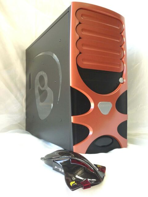 CHENBRO PC Gaming Bomb USB3.0 Tower Case (OR) +Bonus F-39 Aircraft Mouse