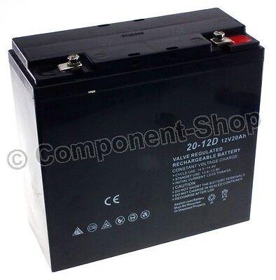 12V 20Ah Sealed Lead-Acid Battery 24hr Free UK Delivery UK SELLER